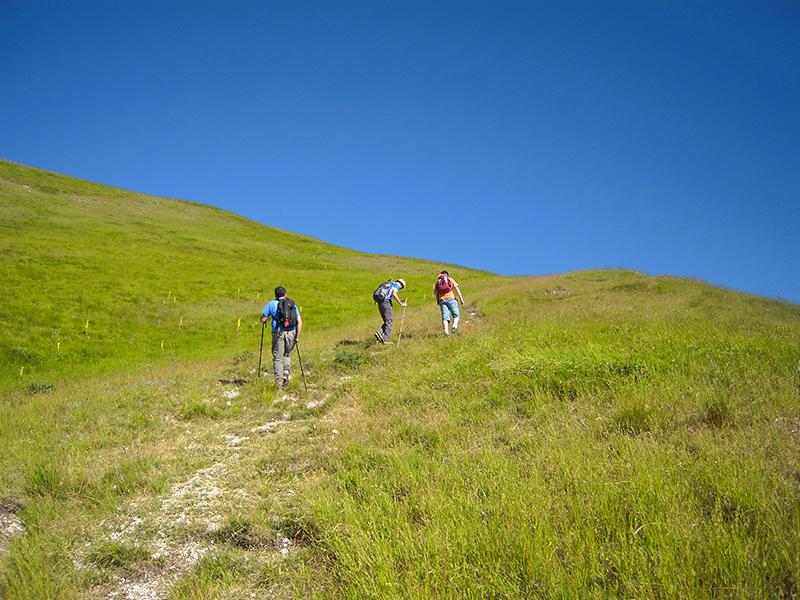 Escursioni sul Monte Sibilla