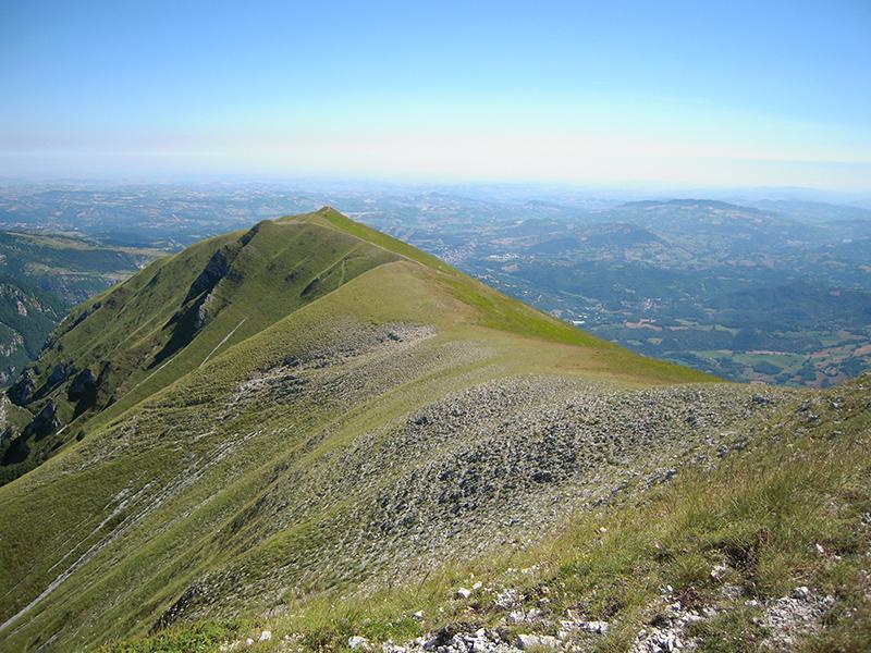 Panorama dal Monte Sibilla